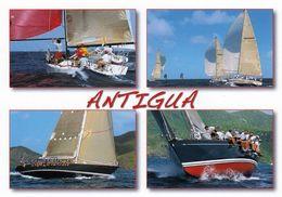 """1 AK Antigua Und Barbuda * Die Segelregatta """"Antigua Sailing Week"""" - Seit 1967 Alljährlich Vor Der Insel Antigua * - Antigua Und Barbuda"""