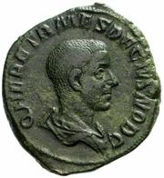 Herennius Etruscis Caesar  -  (250-251) AD  -  AE Sestertius  23,41 Gr.  -  ROME   -  RIC 173.  -  R1 - 5. The Military Crisis (235 AD To 284 AD)
