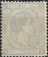 1876 Alphonso - 25c - Lilac MH - Télégraphe