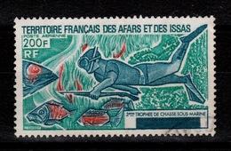 Afars Et Issas - YV PA 99 Oblitere - Chasse Sous-marine Cote 8 Euros - Afars Y Issas (1967-1977)