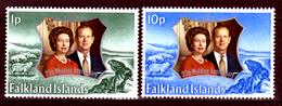 Falkland-0050 - Emissione 1972 (++) MNH - Senza Difetti Occulti. - Falkland