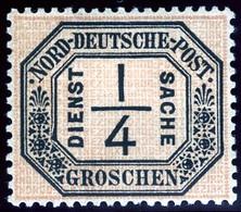 North German Confederation. Sc #O1. Officials. Unused. * - North German Conf.