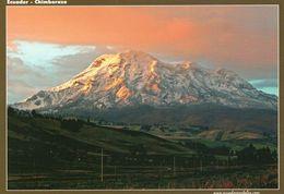 1 AK Ecuador * Der Inaktive Vulkan Chimborazo - Mit 6310 M Der Höchste Berg In Ecuador * - Ecuador