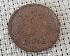 Denmark 50 Ore  VF  1990 - Denmark