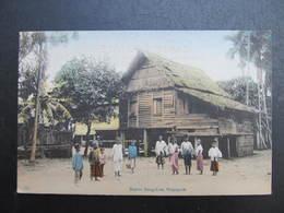 AK SINGAPUR SINGAPORE Native Bangalore Ca.1910 // D*39032 - Singapur