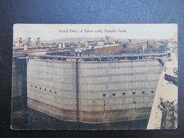 AK PANAMA Guard Gates Of Gatun Lock Ca.1910 // D*39033 - Panama