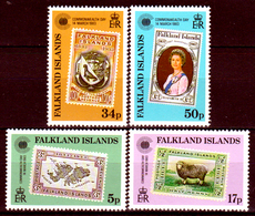 Falkland-0052 - Emissione 1983 (++) MNH - Senza Difetti Occulti. - Falkland