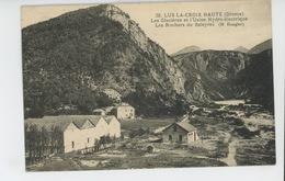 LUS LA CROIX HAUTE - Les Glacières Et L'Usine Hydro-électrique - Les Rochers Du Saleyras - France