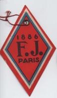 Bon De Garantie Contre Tous Vices De Construction/1886 F J Paris/Etiquette Carton/Lampe à Souder ?/Vers 1900     ETIQ174 - Technical