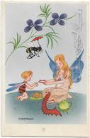 Vintage Postcard  *  Illustrator Willy Schermelé - Schermele, Willy
