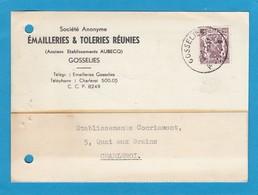 FIRMENLOCHUNG/PERFIN/PERFORATION.ÉMAILLERIES & TÔLERIES RÉUNIES,GOSSELIES. - 1934-51