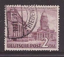 Berlin 58 X Abart Besseres Wasserzeichen Gestempelt Bauten 2 DM Geprüft (21857) - [5] Berlin