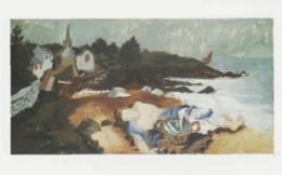 Postcard - Art - Christopher Wood - Sleeping Fisherman, Ploare, Brittany - Card No..mu2234 New - Postcards