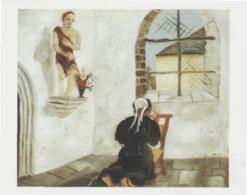 Postcard - Art - Christopher Wood - Breton Woman At Prayer - Card No..mu2237 New - Postcards