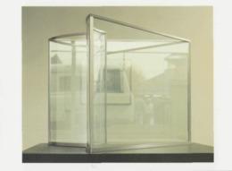 Postcard - Art - Dan Graham - Model For Heart Pavilion - Card No..mu2524 New - Postcards