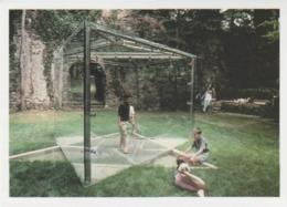 Postcard - Art - Dan Graham - Star Of David Glass Pavilion- Card No..mu2525 New - Postcards