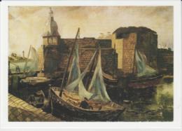 Postcard - Art - Christopher Wood - La Ville Close, Concarneau, Brittany - Card No..mu2235 New - Postcards