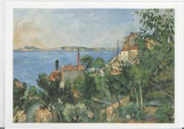 Postcard - Art - Paul Cezanne - Paysage, Etude Dápres- Card No..mu2119 New - Postcards