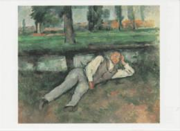 Postcard - Art - Paul Cezanne - Garcon Couche, Boy Resting- Card No..mu2121 New - Postcards