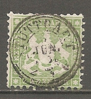 WURTEM - Yv. N° 23 MI. N° 23  Dent 10  (o)  6k Vert Cote 160 Euro BE  2 Scans - Wurtemberg