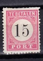 Indes Néerlandaises  :  Taxe 8    Neuf Sans Gomme - Netherlands Indies