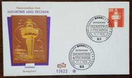Allemagne - FDC 1976 - YT N°697 - Industrie Et Technique / Phare - FDC: Brieven
