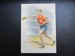 AK  BOX BOXER Boxsport Ca.1945  // D*39042 - Boxsport