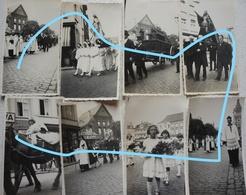 Photox8 NIVELLES Procession Sainte ? 1933 - Places