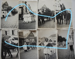 Photox8 NIVELLES Procession Sainte ? 1933 - Orte