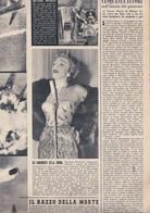 (pagine-pages)MARLENE DIETRICH  Tempo1953/53. - Libri, Riviste, Fumetti