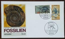 Allemagne - FDC 1978 - YT N°821, 822 - Patrimoine Archéologique / Fossiles - BRD
