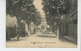 MANOSQUE - Avenue De La Gare - Manosque
