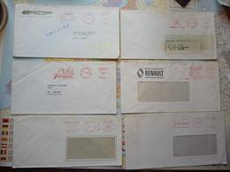 21 EMA Des Années 1970 - Marcofilia (sobres)