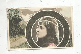 Cp, Spectacle , Artistes , HATTO ,  Voyagée 1907 - Künstler