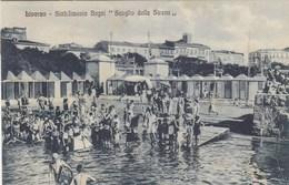 LIVORNO-STABILIMENTO BAGNI=SCOGLIO DELLA SIRENA=-CARTOLINA VIAGGIATA IL 11-8-1932 - Livorno