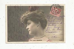 Cp, Spectacle , Artistes , Mlle ALICE BONNETON ,  Voyagée - Artistes