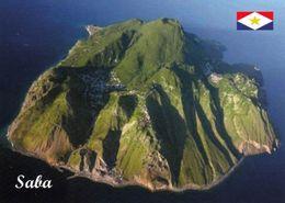 1 AK Insel Saba * Blick Auf Die Insel Saba - Luftbildaufnahme * Karibik * Caribbean * - Saba