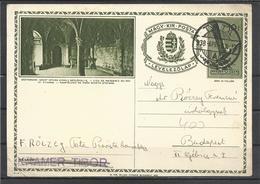 Hungary, Stationery Card, Esztergom, The Birth Place Of King St. Stephen, 1938. - Interi Postali