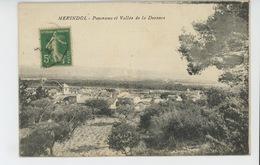MERINDOL - Panorama Et Vallée De La Durance - Andere Gemeenten