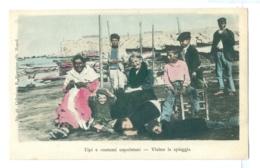 1900s Italy, Napoli Clothing, Vicino La Spiaggia. Printed Pc, Unused. - Napoli