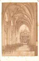 Liège Eglise Saint Jacques Nef De Gauche : Foto Op Hard Karton Photo Carton (10,5 X 16,5 Cm) - Liege