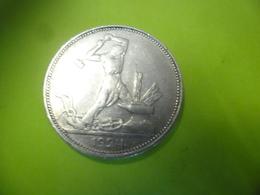 RUSSIE @ MONNAIE 50 KOPEKS, 1924, LONDRES, TTB, ARGENT 10 Gr., KM:89.1 - Russia