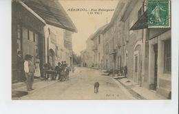 MERINDOL - Rue Relarguier (CAFÉ GARDIOL ) - Andere Gemeenten