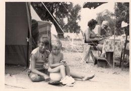 Original Photo Holiday Camping - Pin-up