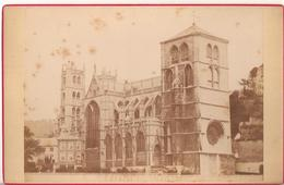 Eglise Collegiale De Huy : Foto Op Hard Karton Photo Carton (10,5 X 16,5 Cm) - Huy