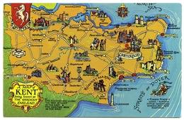 MAP : KENT - THE GARDEN OF ENGLAND - Maps