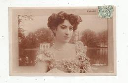 Cp, Spectacle , Artistes , MURAOUR , Sur Fond De FONTAINEBLEAU ,  Voyagée 1906 - Artistes