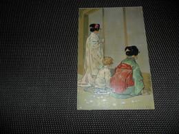 Illustrateur ( 992 )    Leopoldo Metlicovitz   Madame Butterfly  Japon  Japan - Illustrateurs & Photographes