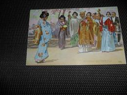 Illustrateur ( 993 )    Leopoldo Metlicovitz   Madame Butterfly  Japon  Japan - Illustrateurs & Photographes