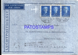 114189 NETHERLANDS AMSTERDAM HOLLAND COVER YEAR 1950 CIRCULATED TO ARGENTINA NO POSTAL POSTCARD - Netherlands